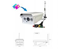 4G3G無線網絡攝像